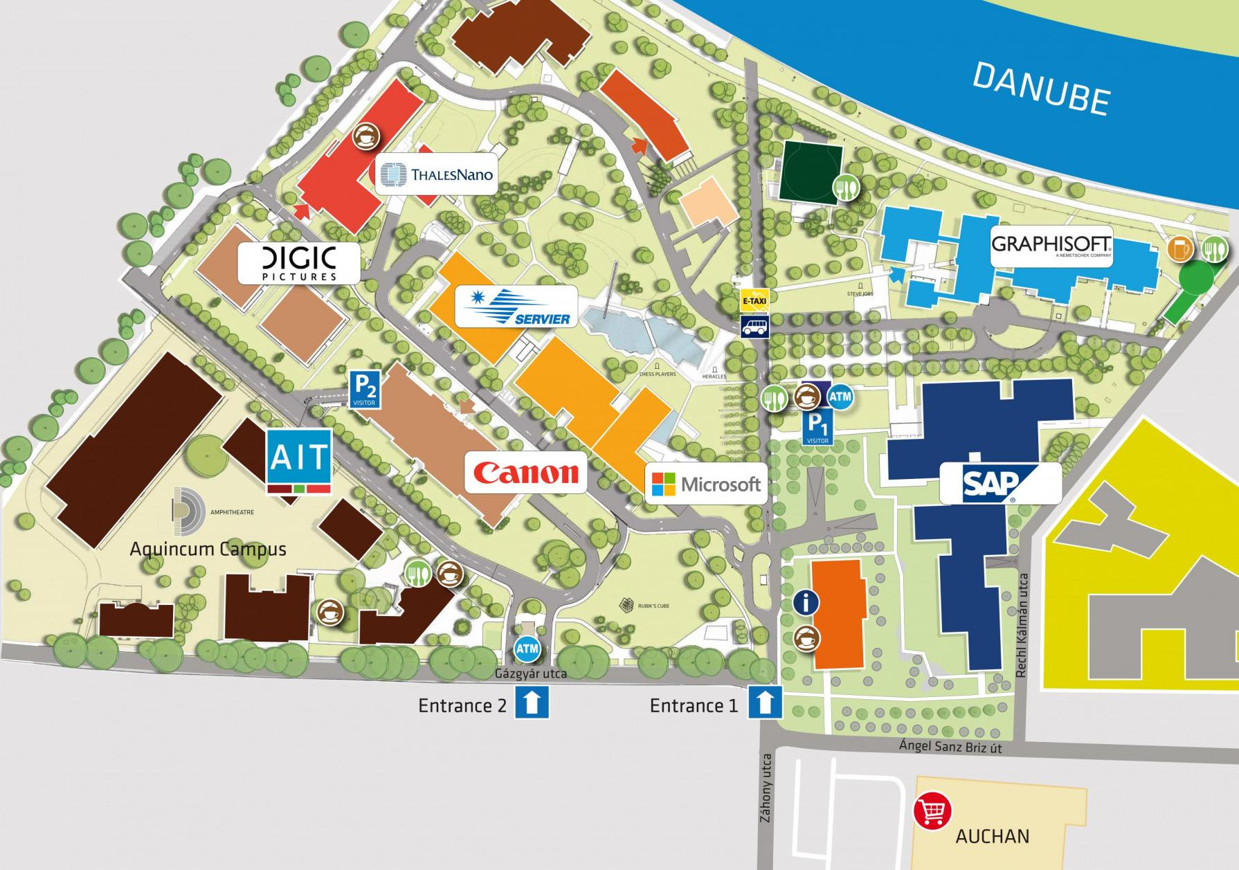 AIT Campus Map